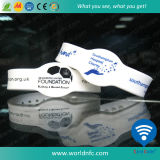 ISO14443A Ntag213 RFID NFC Silicone Wristband