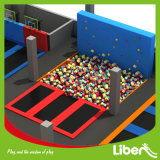 Trampoline van het Park van het winkelcomplex de Onderwijs Binnen