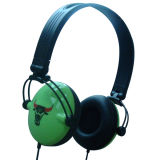 Écouteur pliable fait sur commande de stéréo d'ordinateur de cadeaux promotionnels