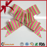 Arco di tiro della farfalla di scintillio 2016 del nastro per il giorno di Natale