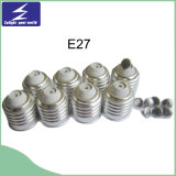 Base do suporte da lâmpada de E27 B22 E14 para a luz do diodo emissor de luz