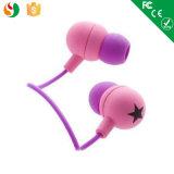 주문 선물 승진 Earbuds 귀 피스 입체 음향 이어폰 중국 도매
