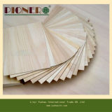 Gerades Line Grain Teak Wood Plywood mit Top Quality