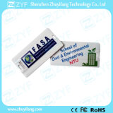 Mini azionamento del USB della carta di credito 16GB con il marchio su ordinazione (ZYF1833)