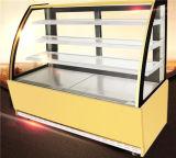 Hotel-Supermarkt-Geräten-Zwischenlage gekühlter Bildschirmanzeige-Schaukasten