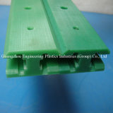 Carril de nylon plástico de la cinta transportadora