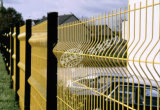 Cerca soldada seguridad cubierta PVC del acoplamiento de alambre para el jardín