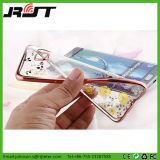 para a borda de Samsung S7 galvanizar a caixa do telefone móvel de jardim secreto de TPU