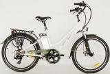 セリウム女性のための250Wモーターを搭載する26インチ都市電気自転車
