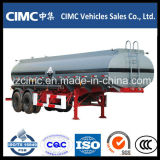 Cimc 45cbm 3 차축 Oil Fuel Tank Semi Trailer