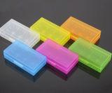 De kleurrijke Doos van Opslag 18650 voor de Plastic Doos van de Batterij
