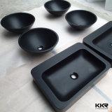 Kingkonree Artificial pedra de superfície contínua acrílica Bacia / Banheiro Lavatório / Bacia Pedestal, bacia do armário / banheiro / Hotel lavatório bacia de lavagem