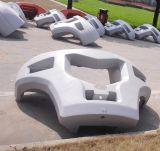 砂型で作る鉄の鋳造フォークリフトのためのカウンターウェイト