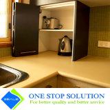 Il montaggio del portello di piegatura di disegno moderno degli armadi da cucina si dirige la mobilia (ZY 1032)