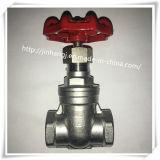 Válvula de porta do aço inoxidável com Ce
