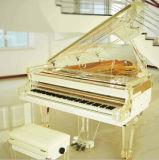 수정같은 그랜드 피아노 아크릴 피아노를 주문을 받아서 만드십시오