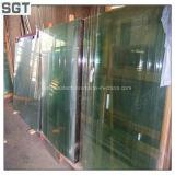 Folha do vidro temperado para a tela/balaustrada da porta do indicador de Sgt