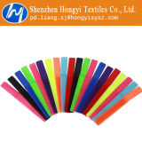 Gancho de leva reutilizable y atadura de cables del bucle multicolora