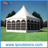 шатер венчания шатёр пиковой рамки 6X6m напольный роскошный высокий