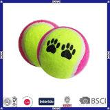Bal van het Tennis van de Leverancier van China de Goede Mooie en Duurzame voor Huisdier
