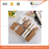 Коробки изготовленный на заказ картона упаковывая бумажные малые упаковывая