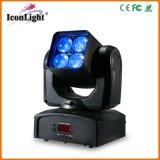 熱い販売RGBWのズームレンズの洗浄移動ヘッドライト(ICON-M066)
