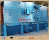 Macchina di brillamento automatica d'acciaio della struttura d'acciaio della macchina di montaggio della macchina di brillamento di alta efficienza della macchina di granigliatura del H-Beam
