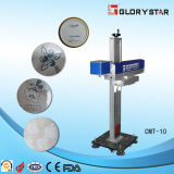 Precio de la etiqueta de plástico del laser del laser Promotioanl 30W de Dongguan Glorystar para plateado de metal