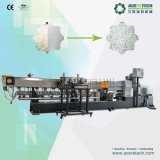 PP PE + CaCO3 Filler Master Batch Plastic Granulating Machinery