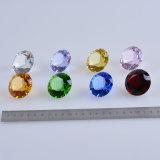 комплект диаманта кристаллический стекла цвета 40mm Multi, 8PCS/Set