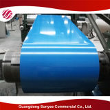 Colorer la tôle d'acier galvanisée plongée chaude enduite PPGI