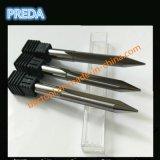 Cannelure 2 droite gravant le couteau de commande numérique par ordinateur des morceaux plats HRC60