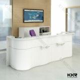 Стол приема стола приемной салона мебели белый