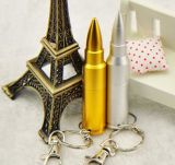 Metal 창조적인 Stainless Steel Bullet 높은 End Feature USB Flash Drive 1-128g