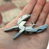 Keychainの多機能のFolding Pocket Tools Plier Knife Screwdriver