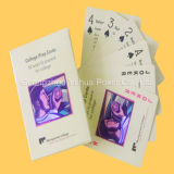 Full Color Grey Core Paper Publicidade Poker Playing Cards