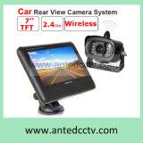 Câmera de visão traseira de carro sem fio com monitor tela de monitor LCD de 7 polegadas para reserva de carro