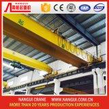 Grúa de puente doble eléctrica de viga grúa de arriba de 10 toneladas