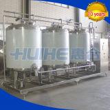 Système de processus du nettoyage CIP d'usine de yaourt