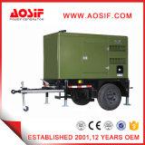 générateur mobile diesel silencieux vert de 40kw 50kVA