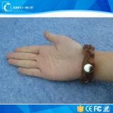 Lederne Round RFID China HF Wristband mit Chip