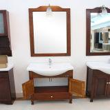 Home Depot recuperou o gabinete de banheiro de madeira de India da mobília