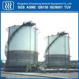 El tanque vertical del GASERO con el certificado de ASME GB