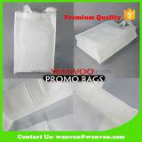 75GSM riciclano il sacchetto non tessuto normale in bianco di bianco per acquisto