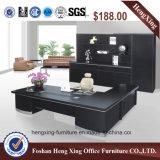Bureau exécutif verre Bureau Table moderne de meubles de bureau (HX-GL001)