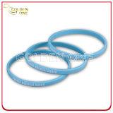 Lo stile di modo ha impresso il braccialetto convesso stampato del silicone di disegno