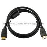 Cable HDMI de alta velocidad de moldeo V1.4 V2.0 para HDTV y cine en casa