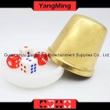 Placa de acrílico del botón del distribuidor autorizado del bacará de Macau (YM-DI01)