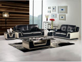 Furniture di cuoio Modern Sofa per Home Sofa con Table