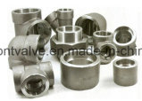 위조된 Steel Screwed 또는 Socket Welded Half Coupling